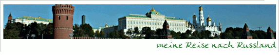 Russland – Moskau ist riesig