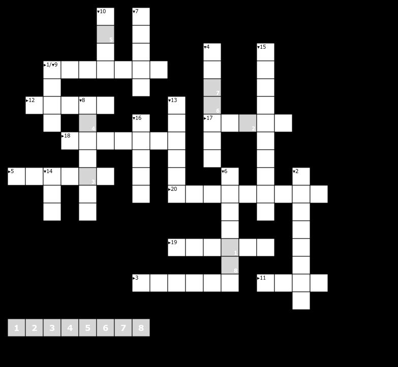 Kreuzworträtsel Anfänger