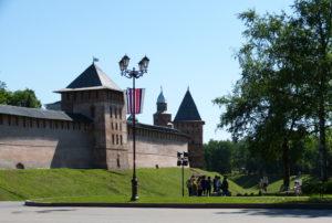 Der Kreml von Weliki Nowgorod wurde das erstemal 1044 erwähnt und ist der älteste Russlands.