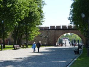 Weliki Nowgorod wird auch die Wiege der russischen Demokratie genannt. Schon 1136 wurden die Fürsten vom Volk gewählt und konnten auch abgesetzt werden.
