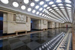Metrostation Elektrozavodskaya Moskau Bild 2