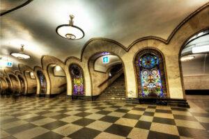 Metrostation Elektrozavodskaya Moskau Bild 4